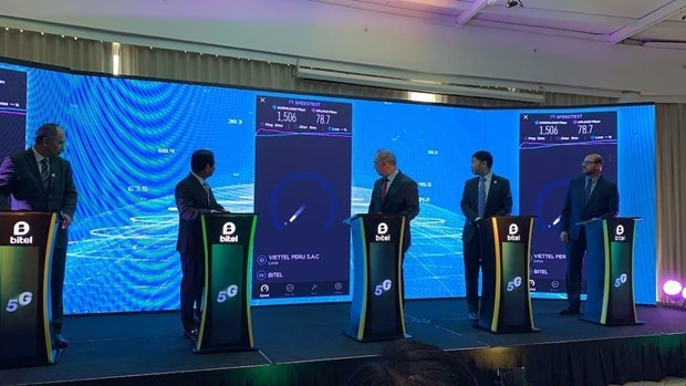 Viettel launches 5G tests in Peru