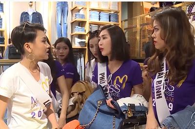 Thí sinh Hoa hậu Hoàn vũ VN khẩu chiến, 'bóc phốt' nhau vì cầm nhầm đồ