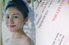 """Văn Mai Hương bị """"bóc phốt"""" lộ giấy đăng ký kết hôn... giả"""