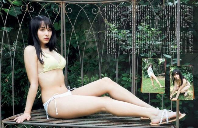 Ca sĩ 18 tuổi trở thành 'bom sex' của Nhật nhờ sở thích khoe thân
