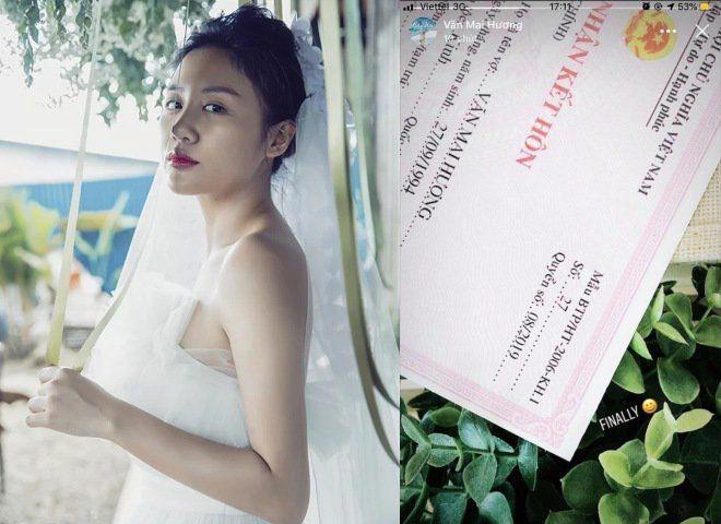 Dân mạng phát hiện nhiều điểm bất thường trong đăng ký kết hôn của Văn Mai Hương
