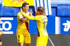 Eibar 0-1 Barca: Đội khách áp đảo (H2)