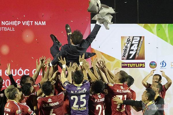 HAGL,V-League,Hà Nội FC,Nam Định FC