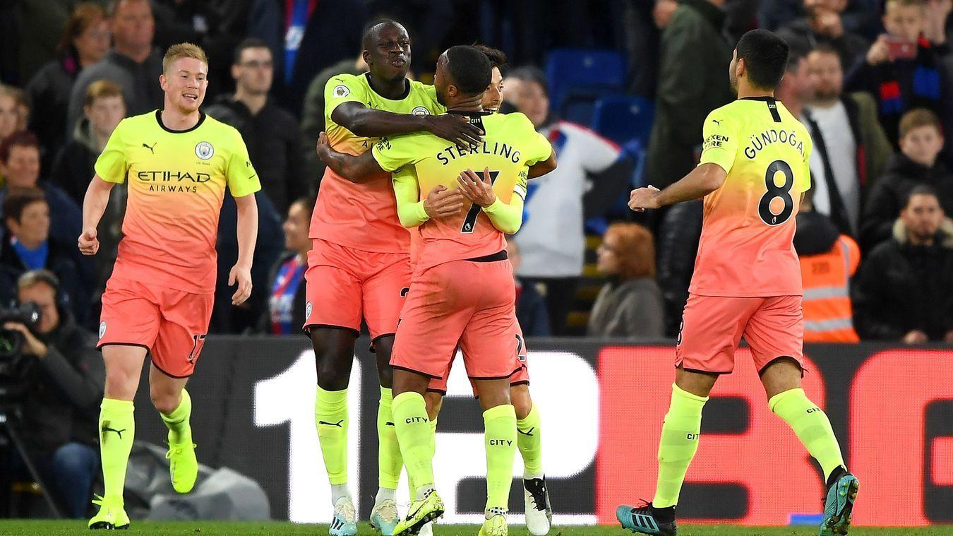 Hạ gục Crystal, Man City tiếp tục bám đuổi Liverpool