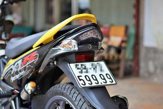Xe máy cũ biển số đẹp được rao bán hàng trăm triệu đồng