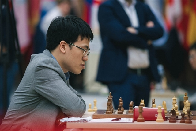 Le Quang Liem draws in seventh match at FIDE Grand Swiss