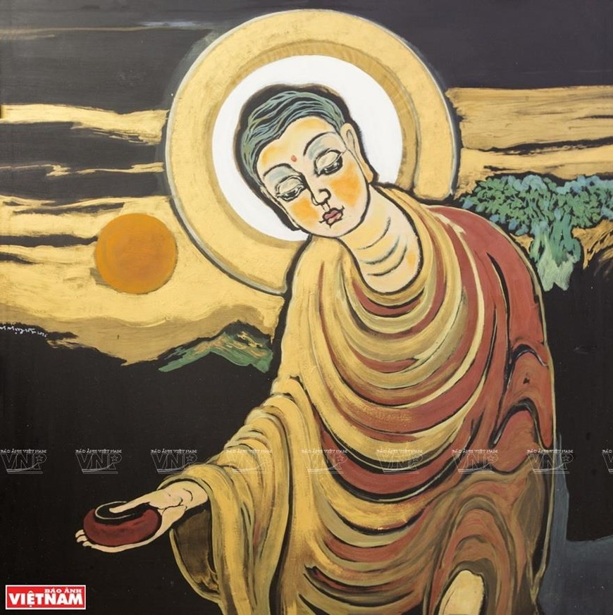 Buddhist paintings,entertainment news,what's on,Vietnam culture,Vietnam tradition,vn news,Vietnam beauty,Vietnam news,vietnamnet news,vietnamnet bridge,Vietnamese newspaper,Vietnam latest news,Vietnamese newspaper articles,news vietnam