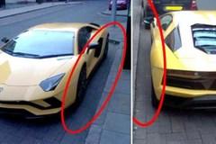 Đỗ xe ô tô không gọn, tài xế bị phạt nặng