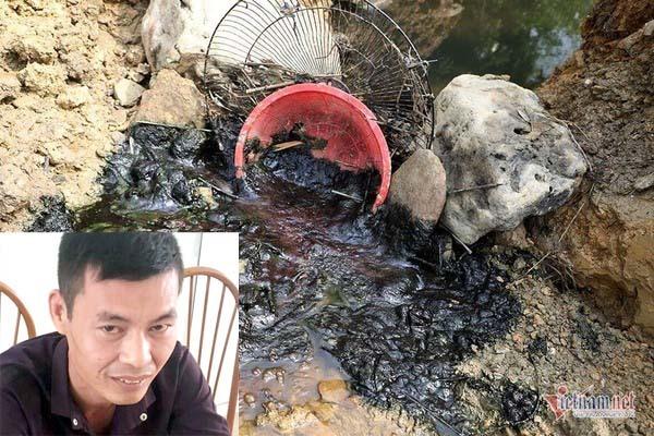 Lý Đình Vũ khai được 1 phụ nữ thuê xả dầu thải xuống nguồn nước sông Đà