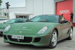 Ngắm Ferrari 599 GTB duy nhất Việt Nam của ông Đặng Lê Nguyên Vũ