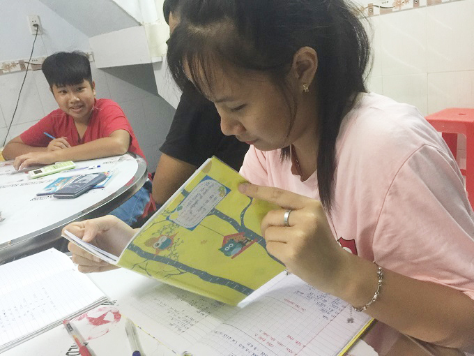 Lớp học tình thương,Từ thiện
