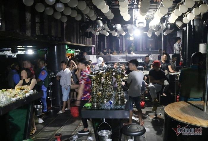 Hơn 100 người dương tính ma túy trong quán bar TV Club ở Đà Nẵng