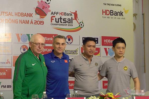 tuyển fustal Việt Nam,Miguel Rodrigo,Giải futsal VĐ ĐNÁ 2019