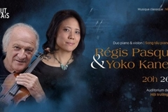 Régis Pasquier and Yoko Kaneko to perform in Hanoi