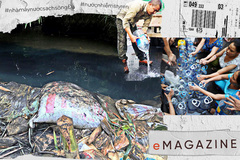 Đường đi của 10m3 dầu thải tới nguồn nước của 250.000 hộ dân Hà Nội