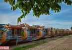 Dragon boat tour on Perfume River