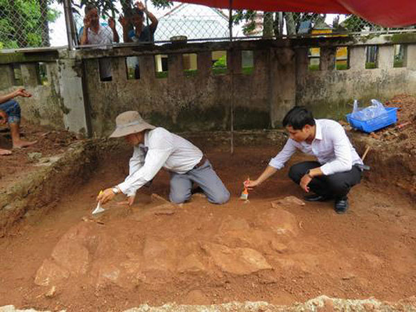 New findings of ancient capital Phu Xuan announced