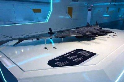 TQ khoe mẫu tàu sân bay siêu tưởng, chế áp không gian