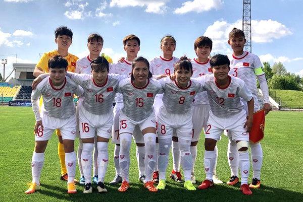 Vietnam in Group A in women's football Olympic 2020 Asian qualifiers
