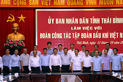 PVN quyết tâm đầu tư hiệu quả các dự án năng lượng tại tỉnh Thái Bình