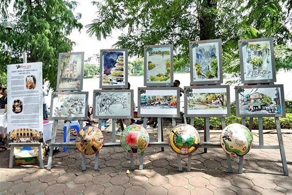 Asia-Link Sketchwalk Hanoi – a destination for artists