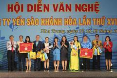 Hội diễn văn nghệ cán bộ, công nhân lao động Công ty Yến sào Khánh Hòa