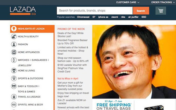 Alibaba,Amazon,Lazada,e-commerce,vietnam economy