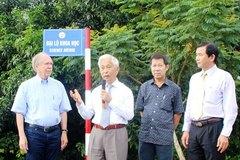 Trung tâm ICISE của GS Trần Thanh Vân sẽ được miễn thuế đất