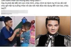 Facebooker Đàm Vĩnh Hưng bị cho là xúi giục bạo lực
