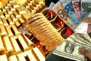 Giá vàng hôm nay 22/10, USD sụt, vàng giảm nhẹ