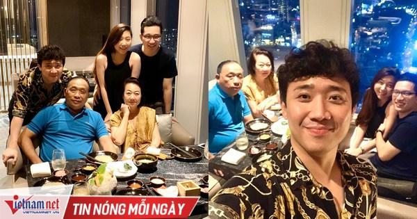 Hari Won lần đầu vắng mặt trong tiệc sinh nhật mẹ chồng