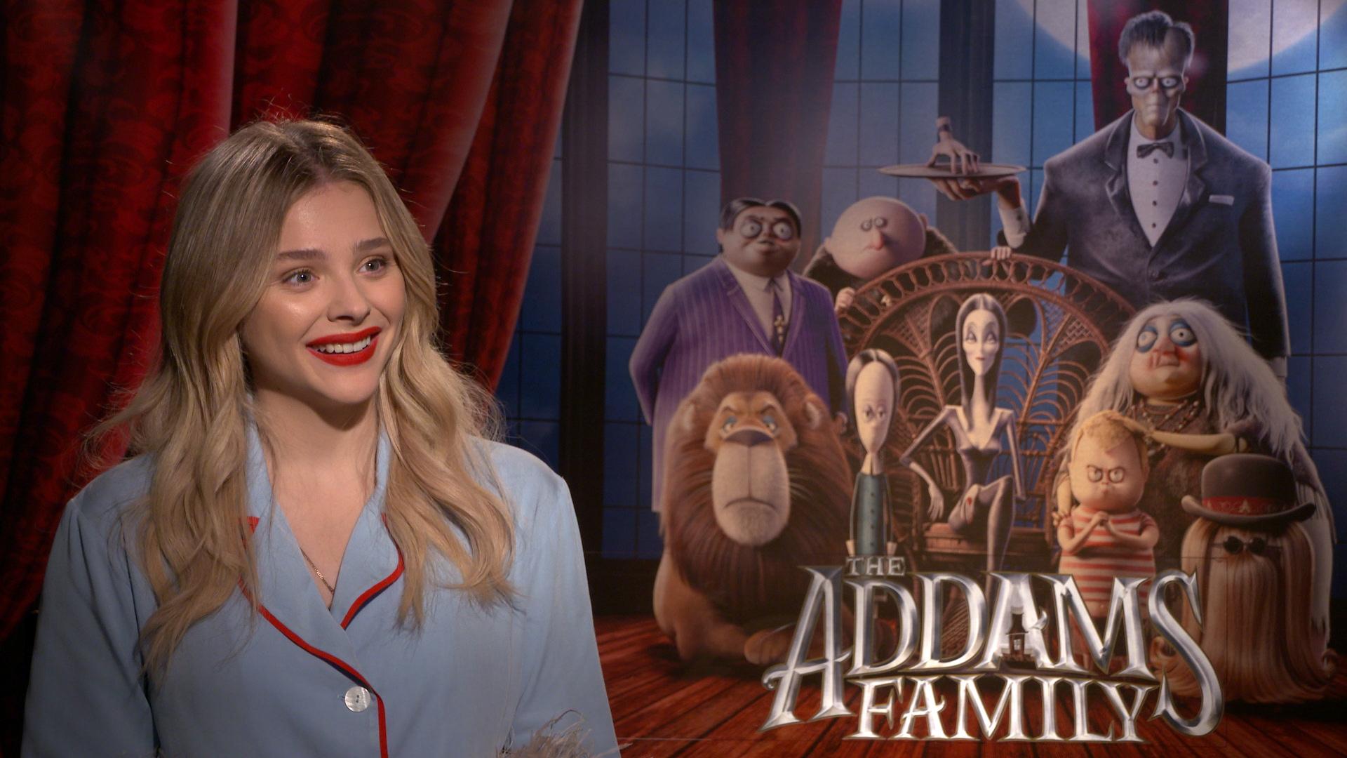The Addams Family,Chloë Grace Moretz,Gia đình Addams,phim chiếu rạp