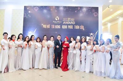 Hơn 500 nữ doanh nhân trong đêm hội Happy Women Leader Global Award 2019