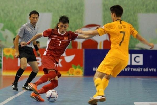 AFF Futsal Championship,futsal,Vietnam's futsal team,Asian championship,updated vietnam news