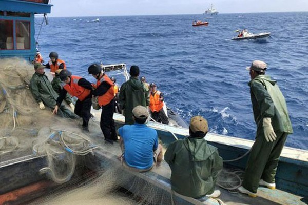 Nearly 12,000 Vietnamese laborers work in foreign fishing vessels