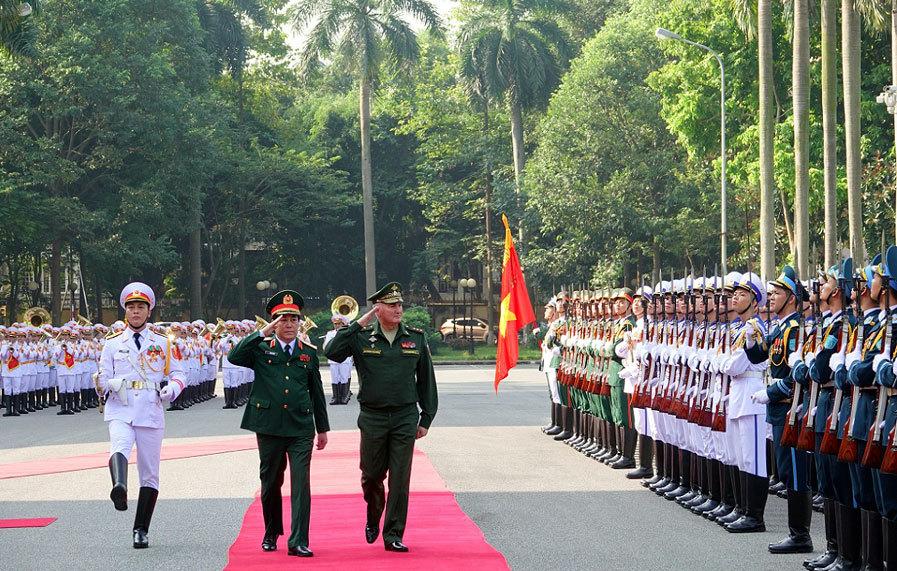Việt - Nga,hợp tác quốc phòng,ASEAN,Đại tướng Lương Cường