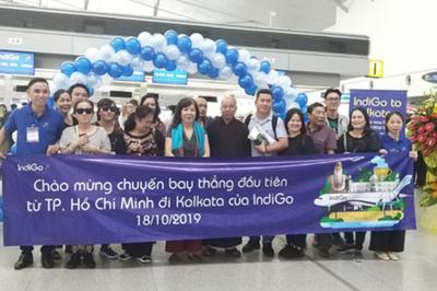Hãng hàng không hàng đầu Ấn Độ mở chuyến bay thẳng đến Tân Sơn Nhất