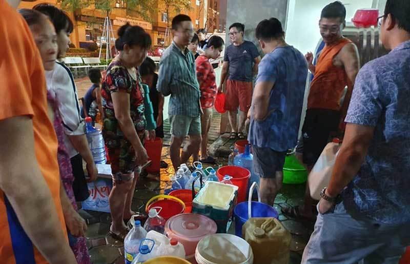 Nước sạch Sông Đà,nước nhiễm bẩn,nước sạch Hà Nội,Viwasupco