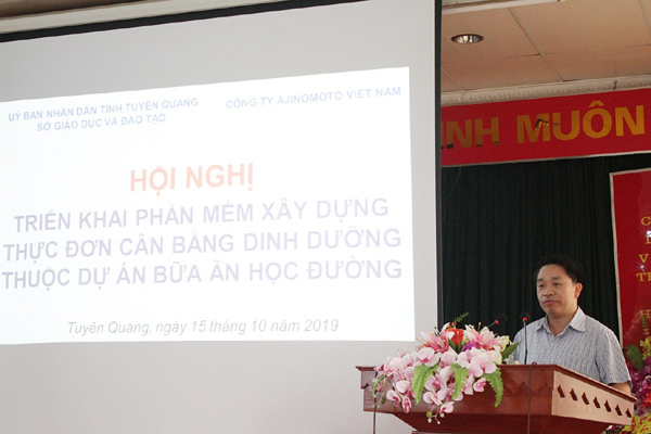 33 trường tiểu học Tuyên Quang áp dụng thực đơn 'chuẩn' dinh dưỡng