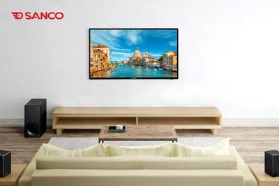 Điều khiển bằng giọng nói ba miền trên tivi Sanco
