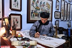 Dong Ho paintings reveal Vietnamese unique folk culture