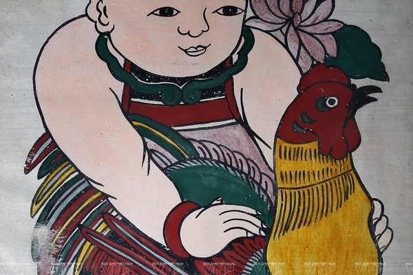 Dong Ho paintings,vietnam folk arts,entertainment news,what's on,Vietnam culture,Vietnam tradition,vn news,Vietnam beauty,Vietnam news,vietnamnet news