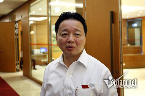 ô nhiễm nguồn nước,nước sạch Hà Nội,Hà Nội,Bộ trưởng TN-MT,Trần Hồng Hà
