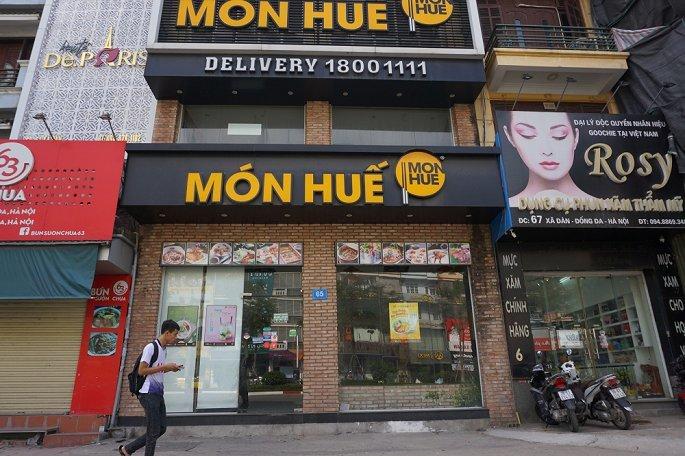 nhà hàng Món Huế,vỡ nợ