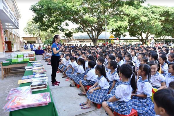 Betrimex và chuỗi hoạt động 'Sách hay cho học sinh tiểu học'