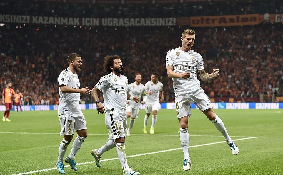 Galatasaray,Real Madrid,Toni Kroos,Hazard