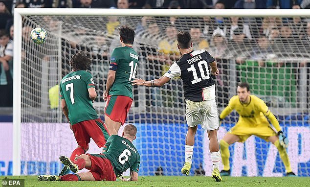 Juventus,Lokomotiv Moskva,Ronaldo,Dybala