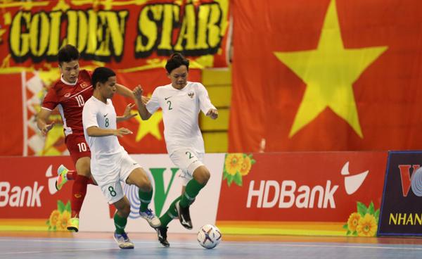 Giải futsal HDBank vô địch ĐNÁ 2019: Tuyển Việt Nam bị chia điểm đáng tiếc
