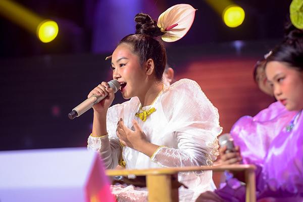 Khánh An đoạt vé may mắn duy nhất vào chung kết The Voice Kids 2019