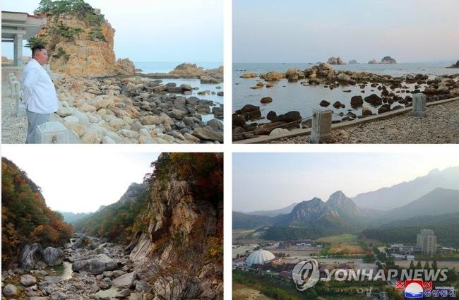 Triều Tiên,Kim Jong Un,khu nghỉ mát,núi Kim Cương